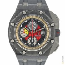 Audemars Piguet Carbon Automatic Red 46mm pre-owned Royal Oak Offshore Grand Prix