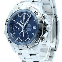 TAG Heuer Aquaracer 300M Steel 41mm Blue United States of America, California, West Hollywood