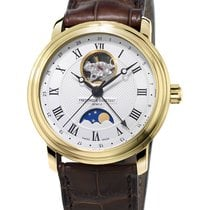 Frederique Constant Classics Moonphase Gold/Steel 40mm Silver