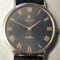 Rolex Cellini Gelbgold 32mm Schwarz Römisch Deutschland, Essen