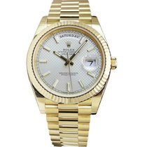 Rolex Day-Date 40 40mm Silver United States of America, Missouri, BRANSON