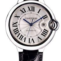 Cartier Ballon Bleu 42mm Steel 42mm Silver Roman numerals United Kingdom, London