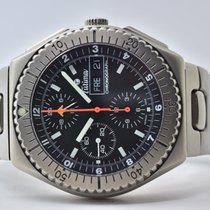 Tutima Military 750-02 Very good Titanium 43,5mm Automatic