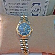 Rolex Lady-Datejust Aur/Otel 26mm Albastru Fara cifre România, Bucuresti