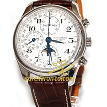 Longines Chronograph 40mm Automatic new Master Collection Silver