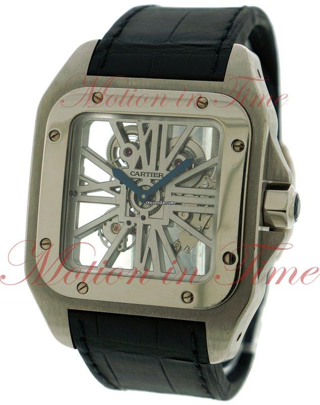 9544e7a7c1d Cartier Santos 100 Extra Large