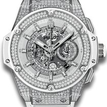 ウブロ (Hublot) King Power Unico White Pavé
