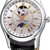 Frederique Constant Classics Moonphase Steel Silver United States of America, New York, Brooklyn