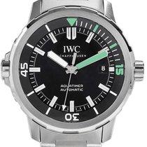 IWC Schaffhausen IW329002 Aquatimer Automatic Black Index...