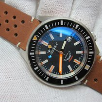 Squale SqualeMatic 600m Satin Case Black Dial