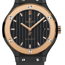 Hublot Classic Fusion 38mm Automatic Ceramic Gold