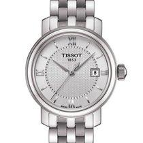 Tissot T0970101103800 Bridgeport Quartz Silver Dial Silver...