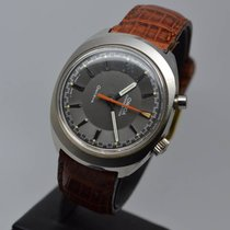 Omega Genève Chronostop Driver 35mm Steel Vintage Manual Cal.865