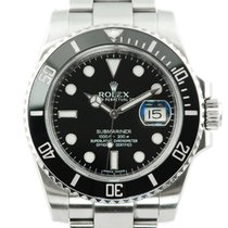 Rolex Submariner Date Stainless Steel Black Dial - 116610