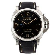 沛納海 Luminor Marina 1950 3 Days Automatic 新的 自動發條 附正版包裝盒和原版文件的手錶 PAM01312 or PAM1312