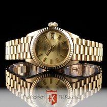 Rolex Lady Datejust Gold 18K President Ref. 6917 Box Zertifikat