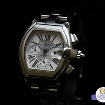 Cartier Roadster XL 40 X 47 MM Automatic Chronograph Box and...