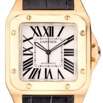 Cartier Yellow Gold Santos 100XL