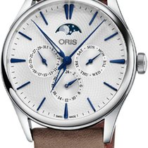 Oris Artelier Complication Steel 40mm Silver United States of America, New York, Airmont
