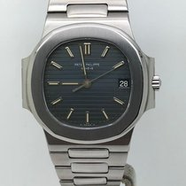 Patek Philippe Nautilus YEAR 1984 VERY RARE BLUE TROPICAL DIAL
