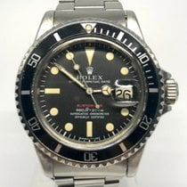 Rolex Steel Automatic Black No numerals 40mm pre-owned Submariner Date