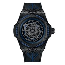 Hublot Big Bang Sang Bleu Keramik 39mm Schwarz