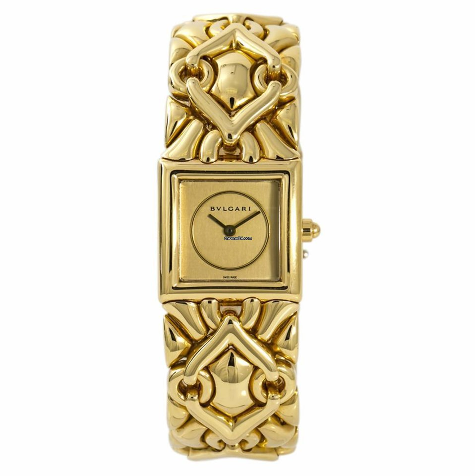 Bulgari Yellow gold watches - all prices for Bulgari Yellow gold watches on  Chrono24 a0ae305c96bd4