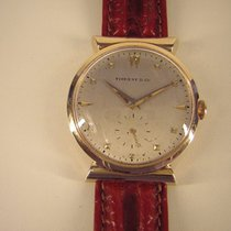 Tiffany Yellow gold 34mm Manual winding pre-owned