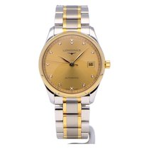 Longines Master Collection Staal 36mm Goud Geen cijfers Nederland, The Netherlands