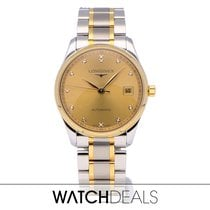 Longines Master Collection Steel 36mm Gold No numerals