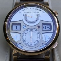 A. Lange & Söhne Zeitwerk Rose gold 44.2mm Silver United States of America, California, Costa Mesa
