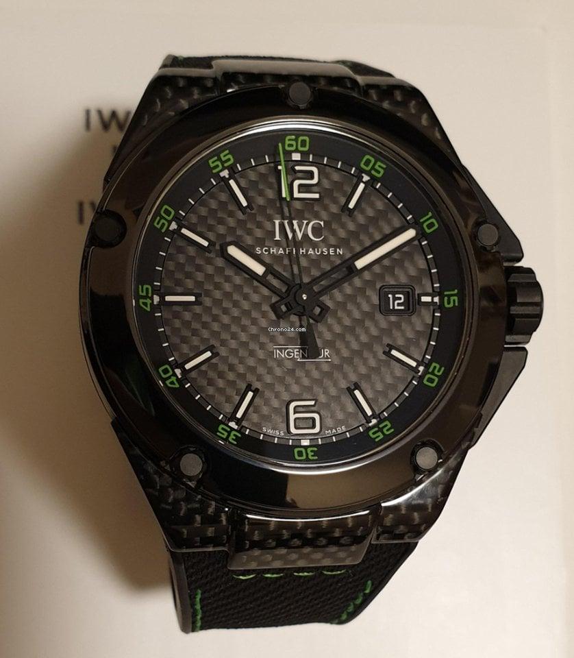 online store d4cbe c97d9 IWC Ingenieur Automatic Carbon Performance Lim. 1000 Stück