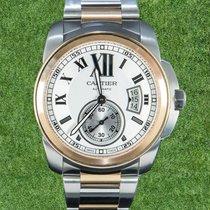 Cartier Gold/Stahl 42mm Automatik W7100036 gebraucht