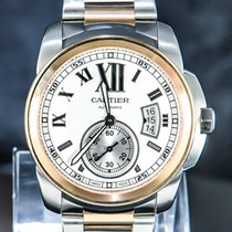 Cartier gebraucht Automatik 42mm Silber Saphirglas