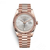 Rolex Rose gold Automatic Pink No numerals 40mm new Day-Date 40