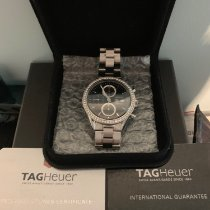 TAG Heuer Carrera Calibre 16 Steel 43mm Black Arabic numerals Australia, Box Hill North