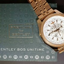 Breitling Bentley B05 Unitime Rose gold 49mm White No numerals United States of America, Florida, 33431