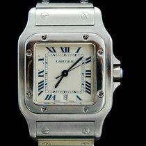 Cartier Santos Galbée Steel 29mm White Roman numerals