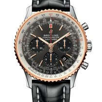 Breitling UB0121211F1P1 Gold/Steel 2019 Navitimer 1 B01 Chronograph 43 43mm new United States of America, Florida, Boca Raton