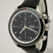 Oris Artix GT pre-owned 44mm Black Leather