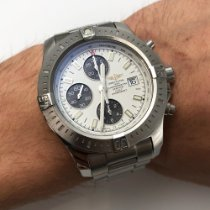 Breitling Colt Chronograph Automatic Steel 44mm Silver No numerals United States of America, New York, NYC