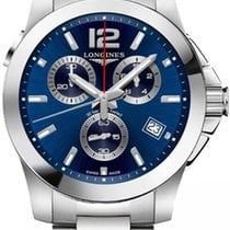 Longines Conquest Steel 41mm Blue United States of America, California, Moorpark
