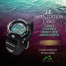 Casio G-Shock ONE PIECE DW6900 BLACK nov