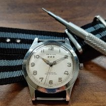 Benrus Steel 34mm Automatic F9 15 pre-owned