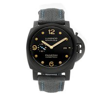 Panerai Luminor Marina 1950 3 Days Automatic pre-owned 44mm Black Date Textile