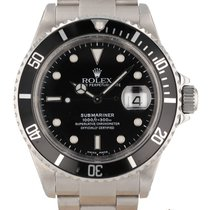 Rolex 16610 Steel 2001 Submariner Date 40mm pre-owned United States of America, New Hampshire, Nashua