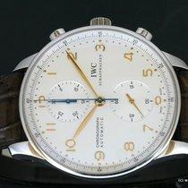 IWC Portuguese Chronograph Staal Zilver Arabisch Nederland, Wageningen