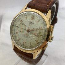 Lemania Yellow gold Manual winding 38mm pre-owned