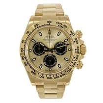 Rolex DAYTONA 18K Yellow Gold Watch Champagne 116508