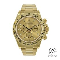 Rolex Daytona Yellow gold 40mm Champagne No numerals United States of America, New York, New York